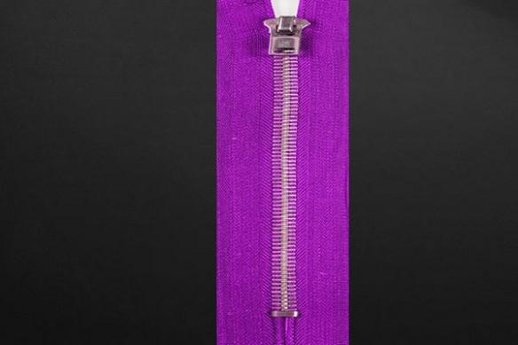 Papier peint design Zip violet