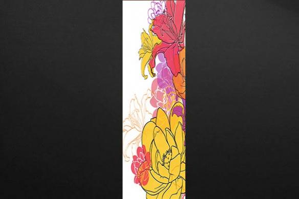 decoration mur de Fleurs