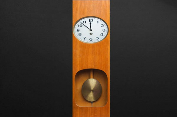 Papier peint déco murale Horloge