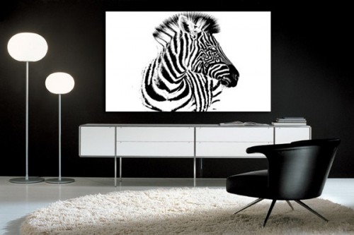 D co maison zebre d co sphair for Chambre zebre