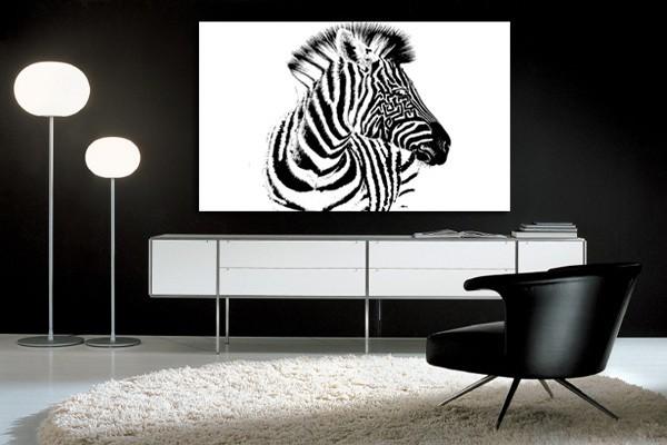 tableau d co marty le z bre izoa. Black Bedroom Furniture Sets. Home Design Ideas