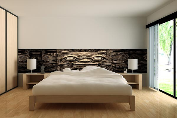 papier peint d coration bas relief izoa. Black Bedroom Furniture Sets. Home Design Ideas