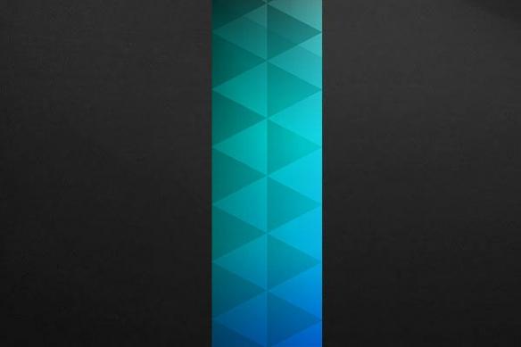 deco mur Trinité bleu