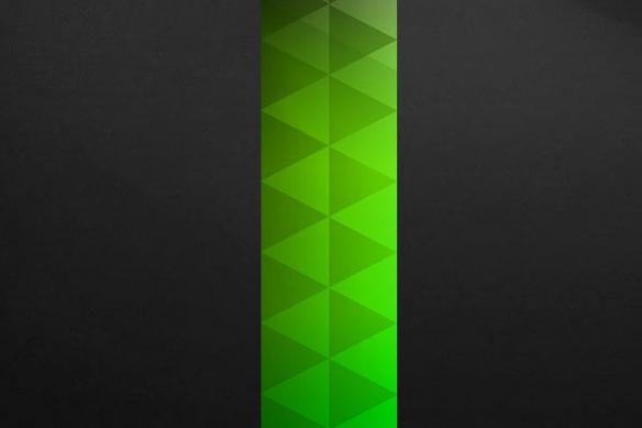 poster mural Trinité vert