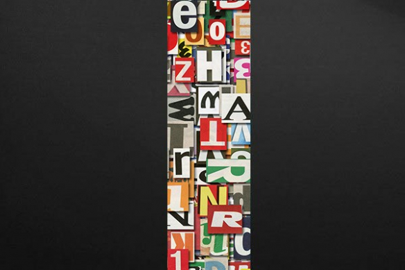 Papier peint mural Alphabet