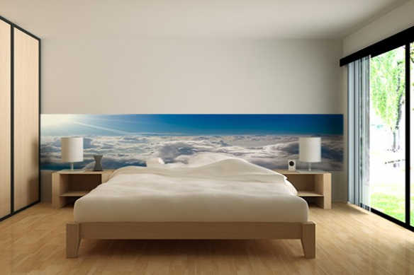 Papier peint chambre Cumulus