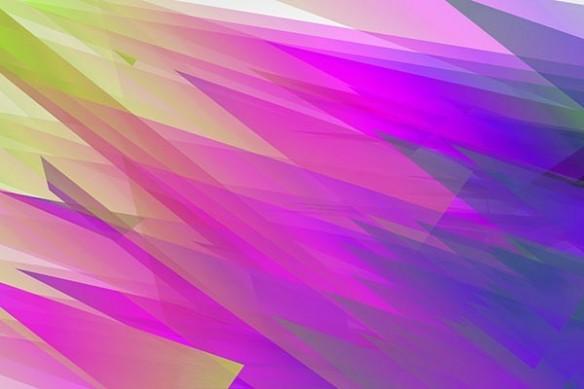 tableau toile abstrait Arrow violet