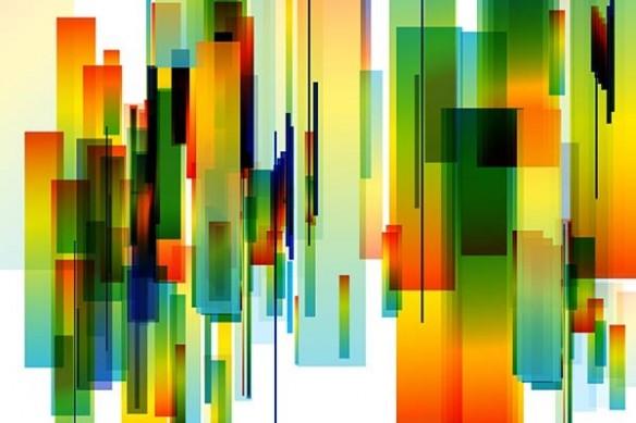 abstrait Atemis izoa toile