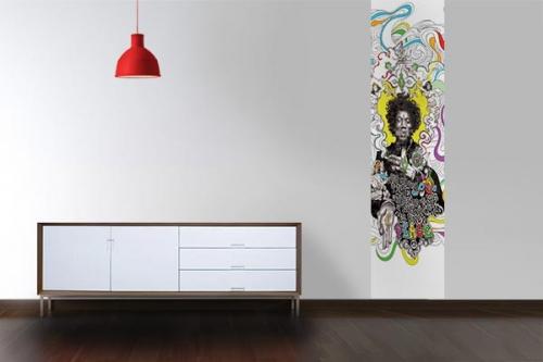Papier peint design Hendrix