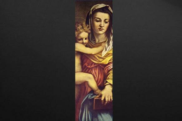 Papier peint décoration Marie