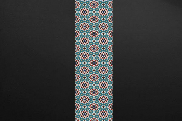 bande papier peint graphique design Nova