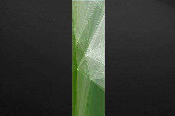 Papier peint salon Scandium vert