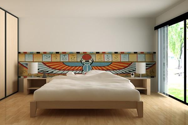 papier peint original pharaon izoa. Black Bedroom Furniture Sets. Home Design Ideas