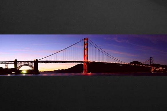 poster mural Pont de San Francisco