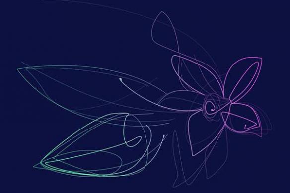 Papier Peint déco Vanille fleur