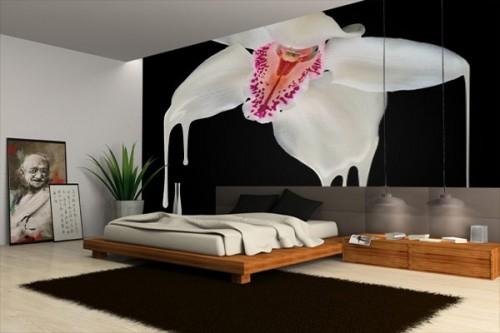 Papier Peint design orchidée