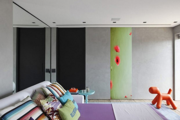 Papier peint chambre Intemporel