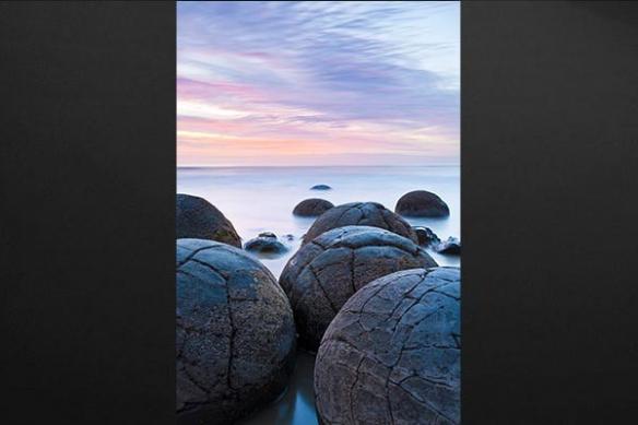 Tableau paysage mer