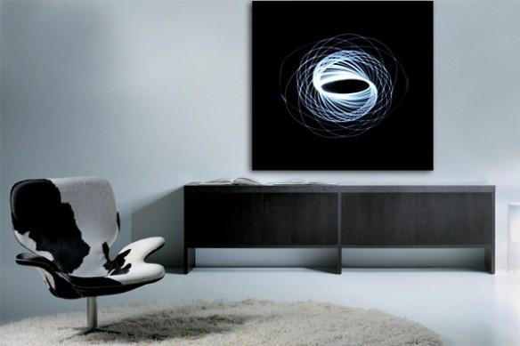 deco mural toile design Quantum