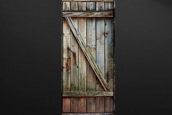 adhésif pour porte bois decoration