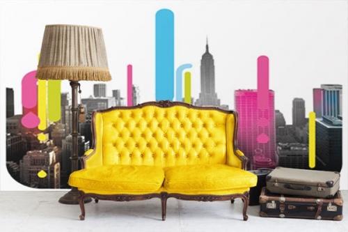 Papier Peint photo new york cmyk