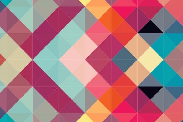 décoration abstraite mural Symétrie