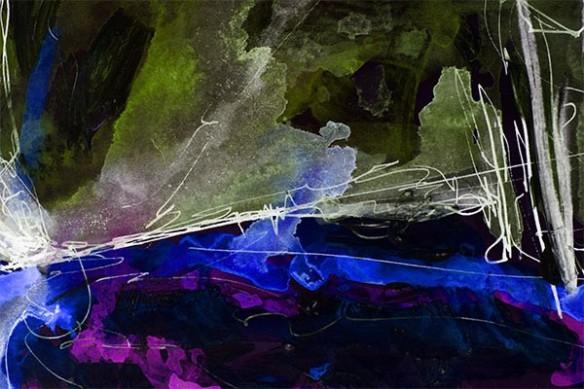 Shock peinture abstraite