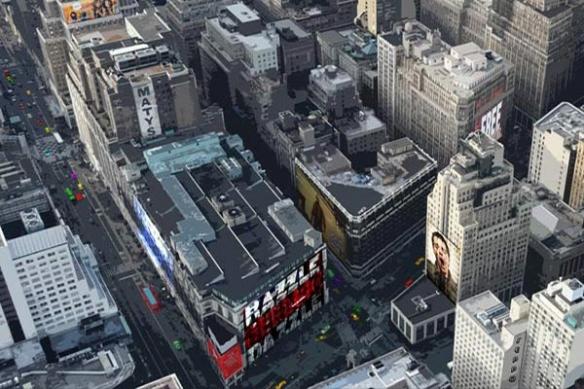 Papier peint peinture new york