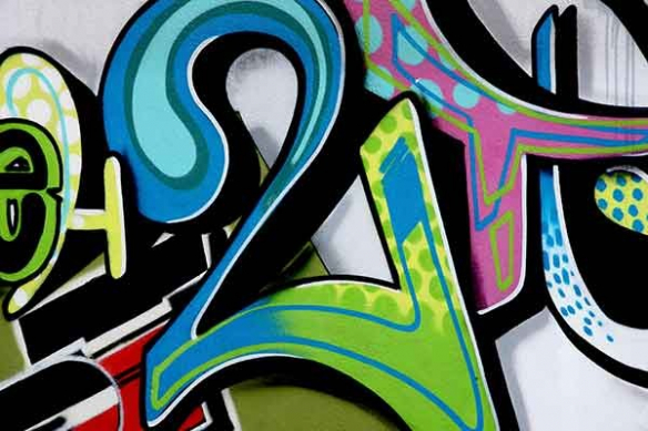tag graff mur Numéro Deux