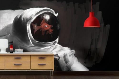 Papier Peint design astronaute