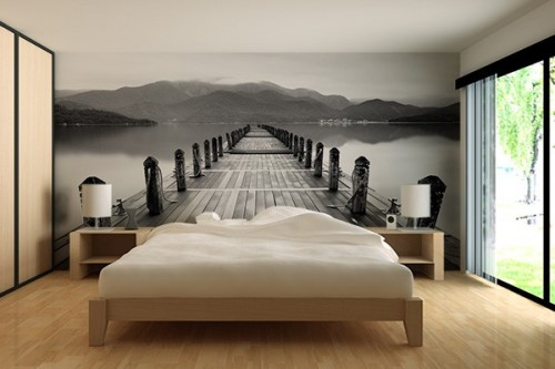 poster mural izoa. Black Bedroom Furniture Sets. Home Design Ideas