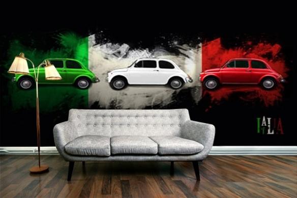 Papier Peint design forza italia