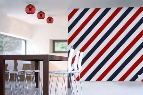 Papier peint design Barber Pole