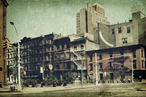 Papier peint New York Old School