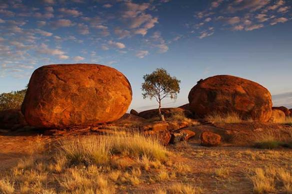 Papier peint déco Rocher Australien