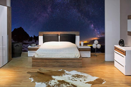 poster mural constellation izoa. Black Bedroom Furniture Sets. Home Design Ideas
