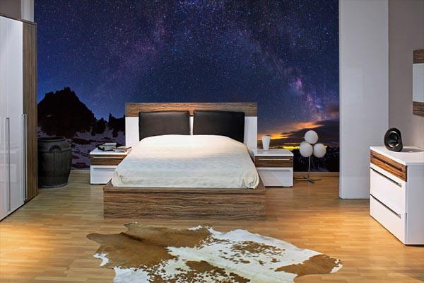 poster mural constellation izoa. Black Bedroom Furniture Sets. Home Design Ideas