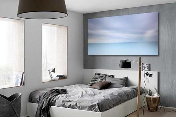 Tableau design Bleu Horizon