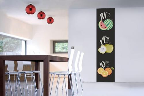 Papier peint vintage Salade de Fruits