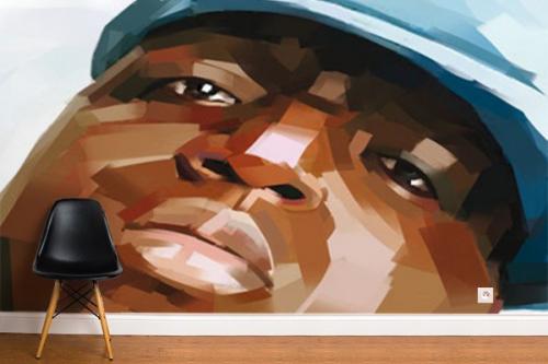 Poster mural Notorious BIG par D. Oztel