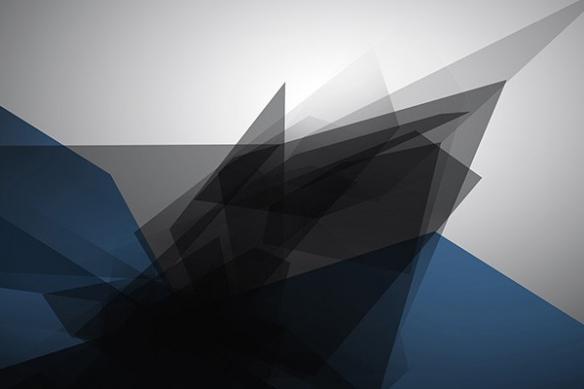 Papier peint design Tungstene bleu