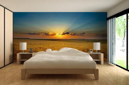 poster mural trompe l oeil. Black Bedroom Furniture Sets. Home Design Ideas