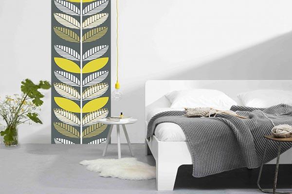 papier peint scandinave gris undo. Black Bedroom Furniture Sets. Home Design Ideas