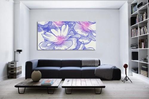 Tableau fleur Ysatis