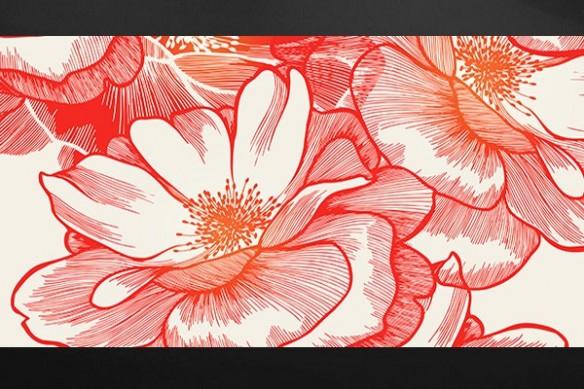 Tableau imprimée fleur Ysatis