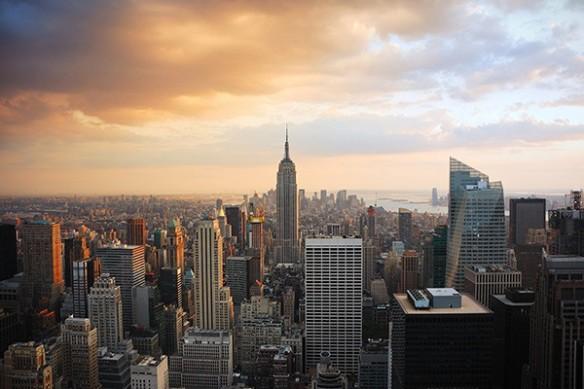 Papier peint déco Empire State Building