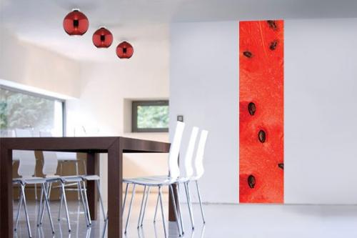 Papier peint cuisine pastèque
