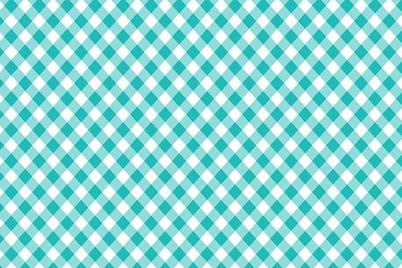 Papier peint déco Vichy bleu