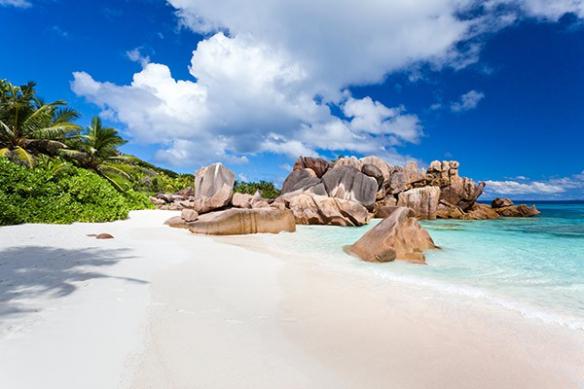 Papier peint déco Seychelles