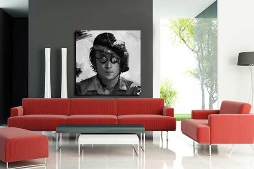 Tableau déco salon Lennon